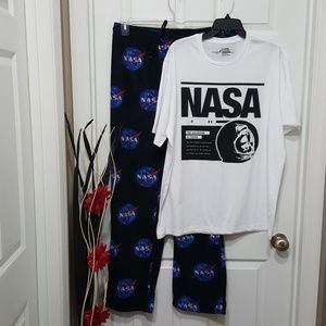 NASA Men Sleep Pajama Wear Size XL